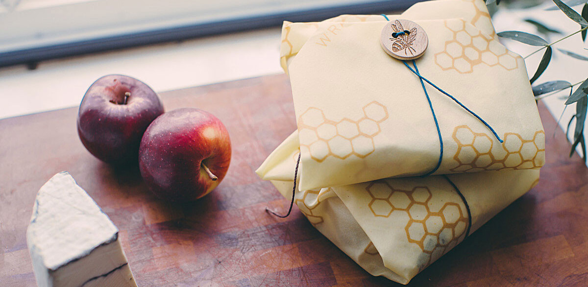 Food Wrap Made of Bee's Wax