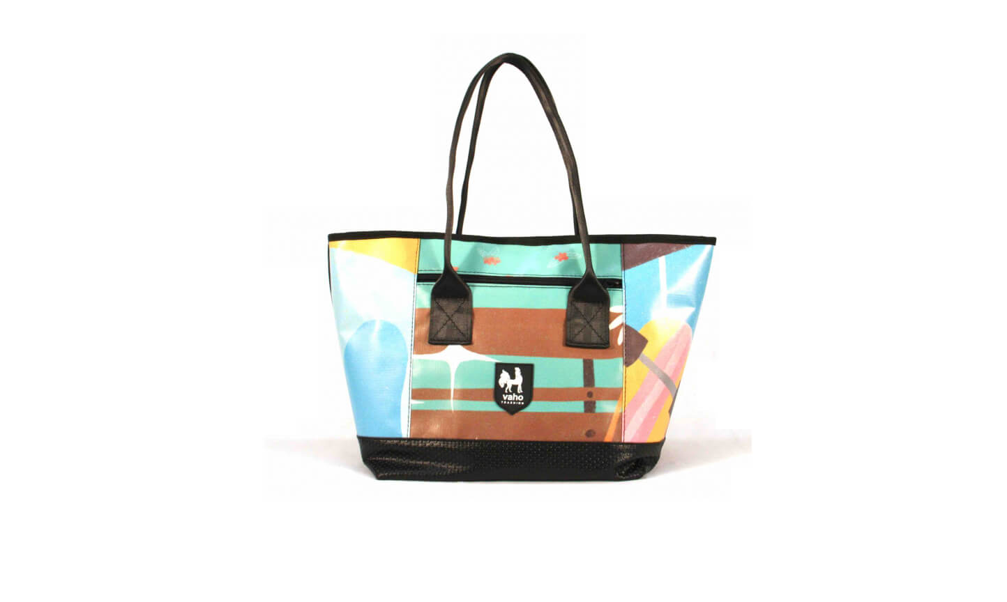 Recycled Canvas Womens Tote Bags