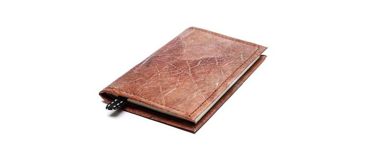 Leaf Leather Notebook