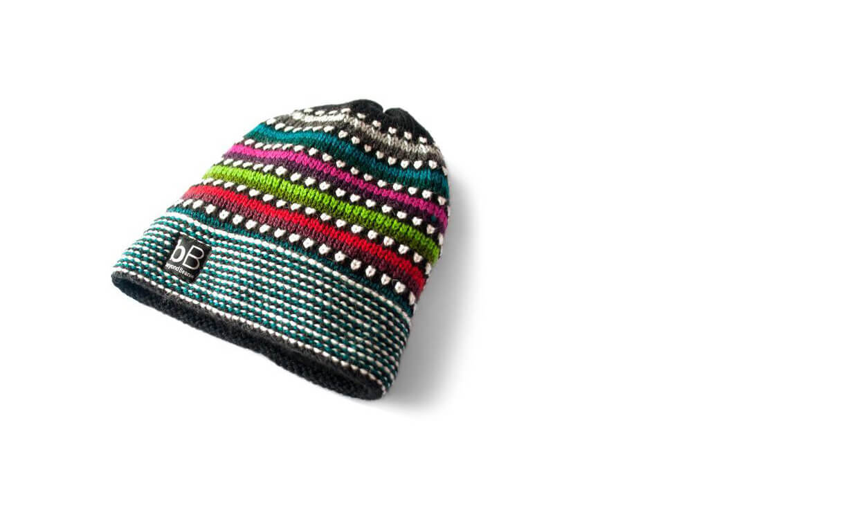 Fair Trade Handmade Wool Beanie