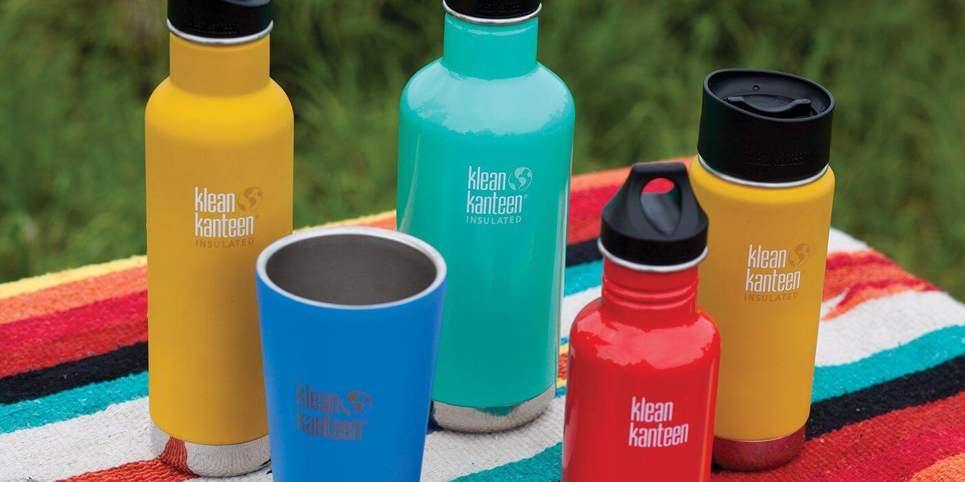Lightweight Stainless Steel Reusable Bottle by Klean Kanteen