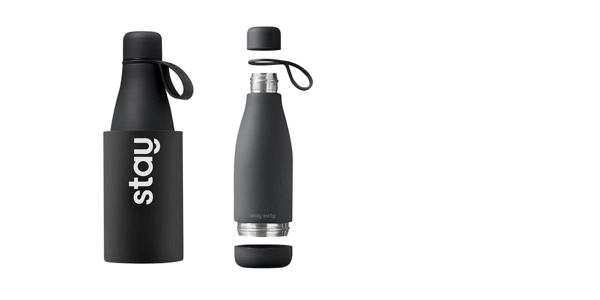 BPA-free & Easy to Clean Reusable Bottle by Stay Sixty