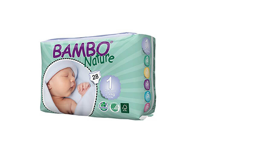 Eco-friendly Disposable Baby Nappies by Bambo Nature