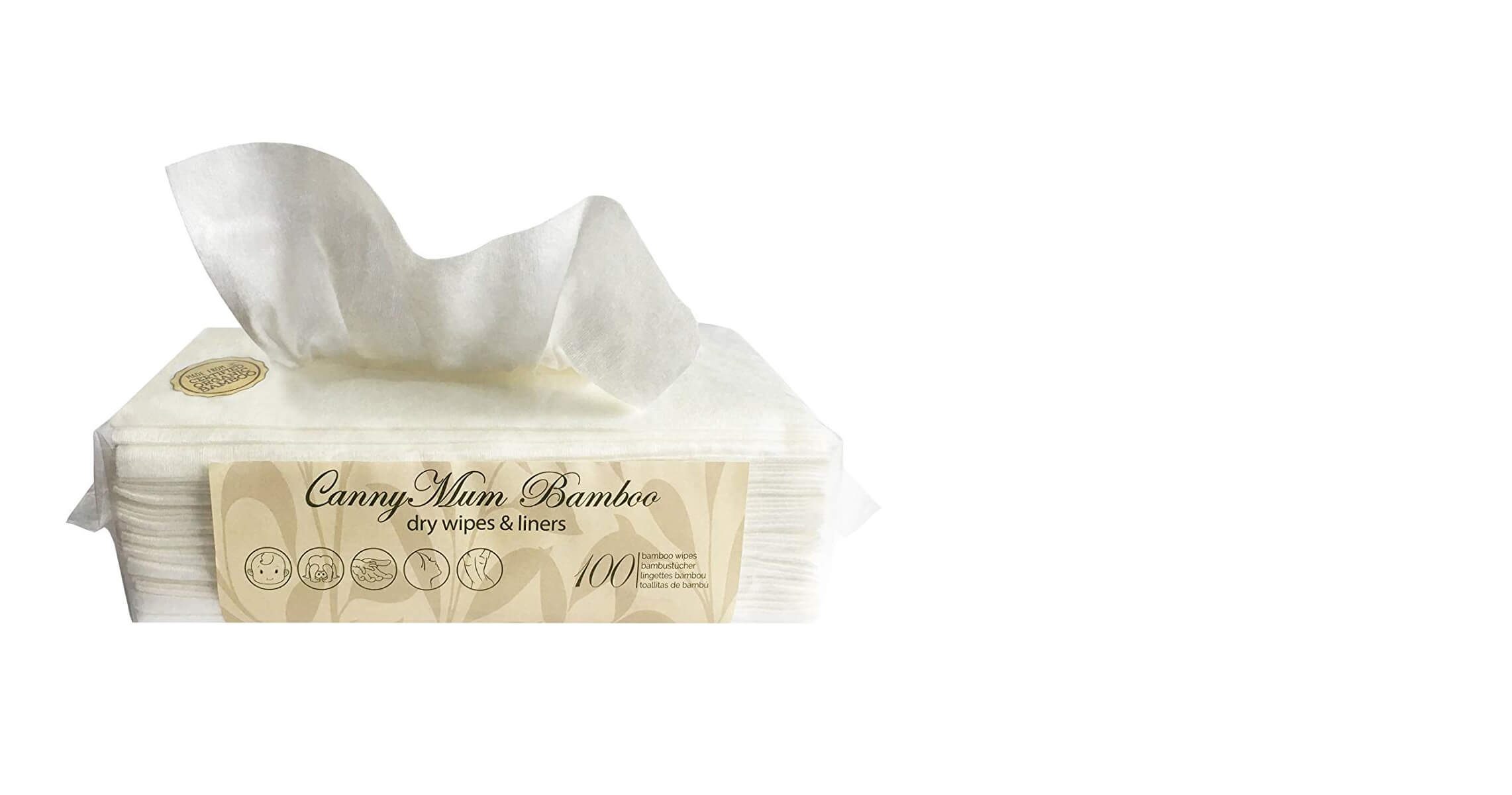 Biodegradable & Chemical-free Dry Baby Wipes