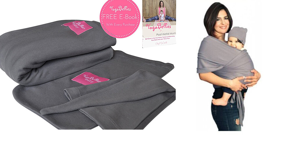 Organic Cotton Baby Sling Wrap by YogaBellies