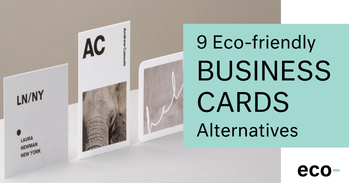 Top 10 Eco Friendly Business Cards