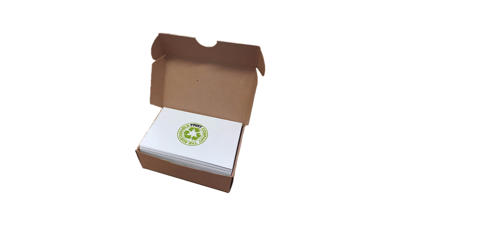 Quality Recycled Paper Business Cards
