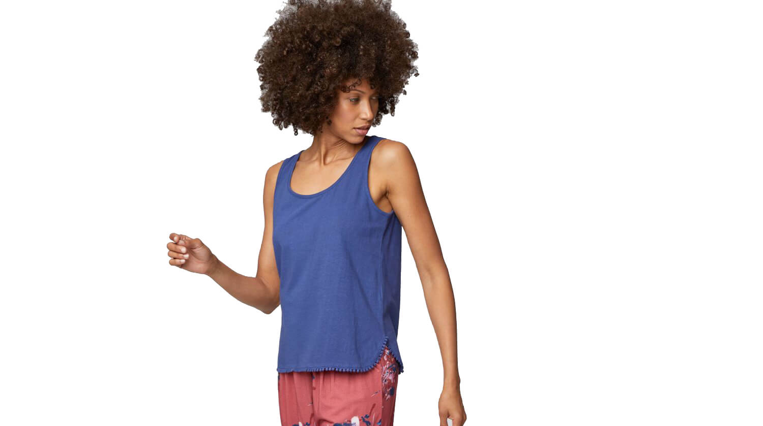 Hemp & Organic Cotton Vest Top, by Thought
