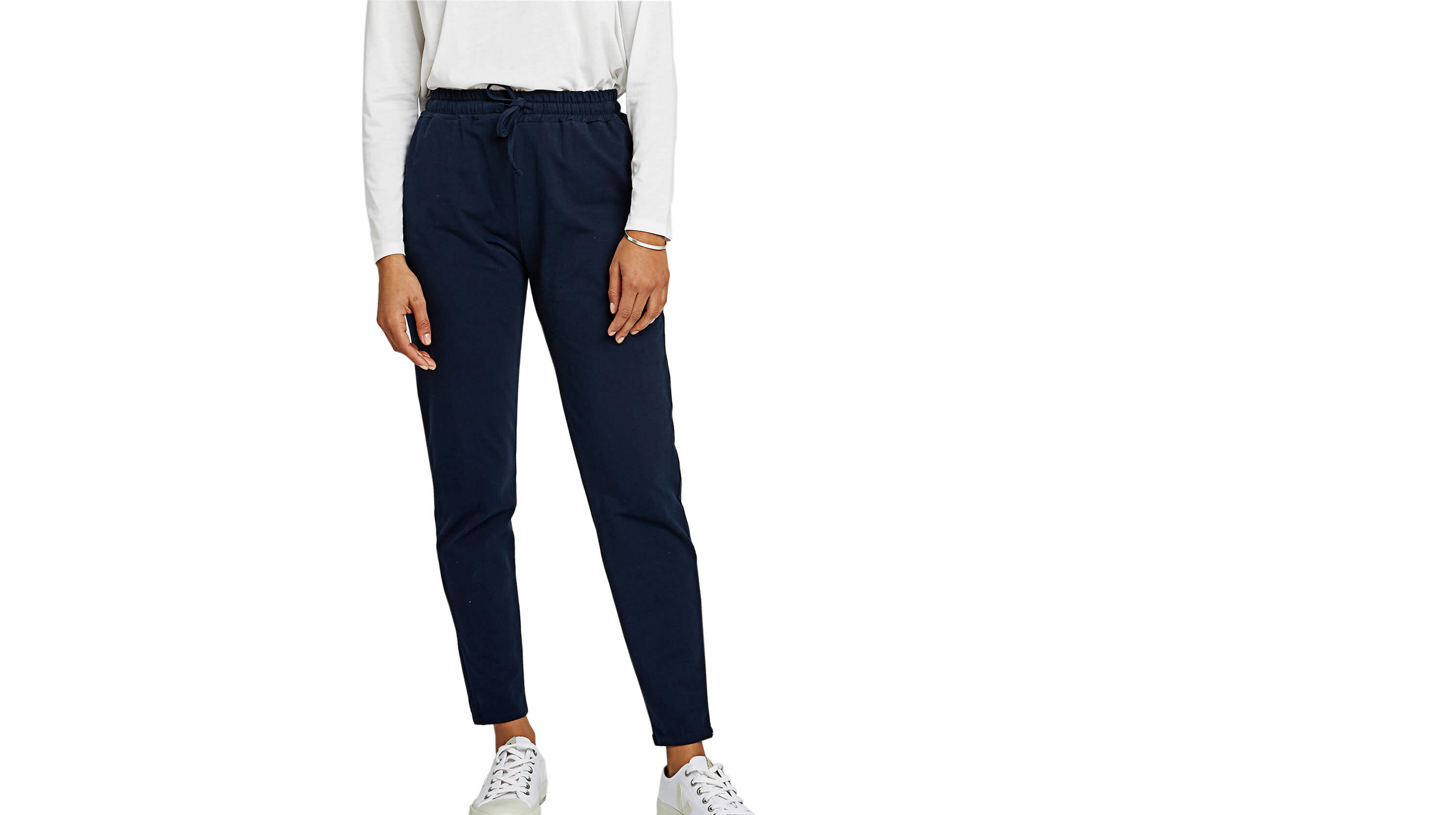 Comfortable Organic Cotton Trousers, by People Tree
