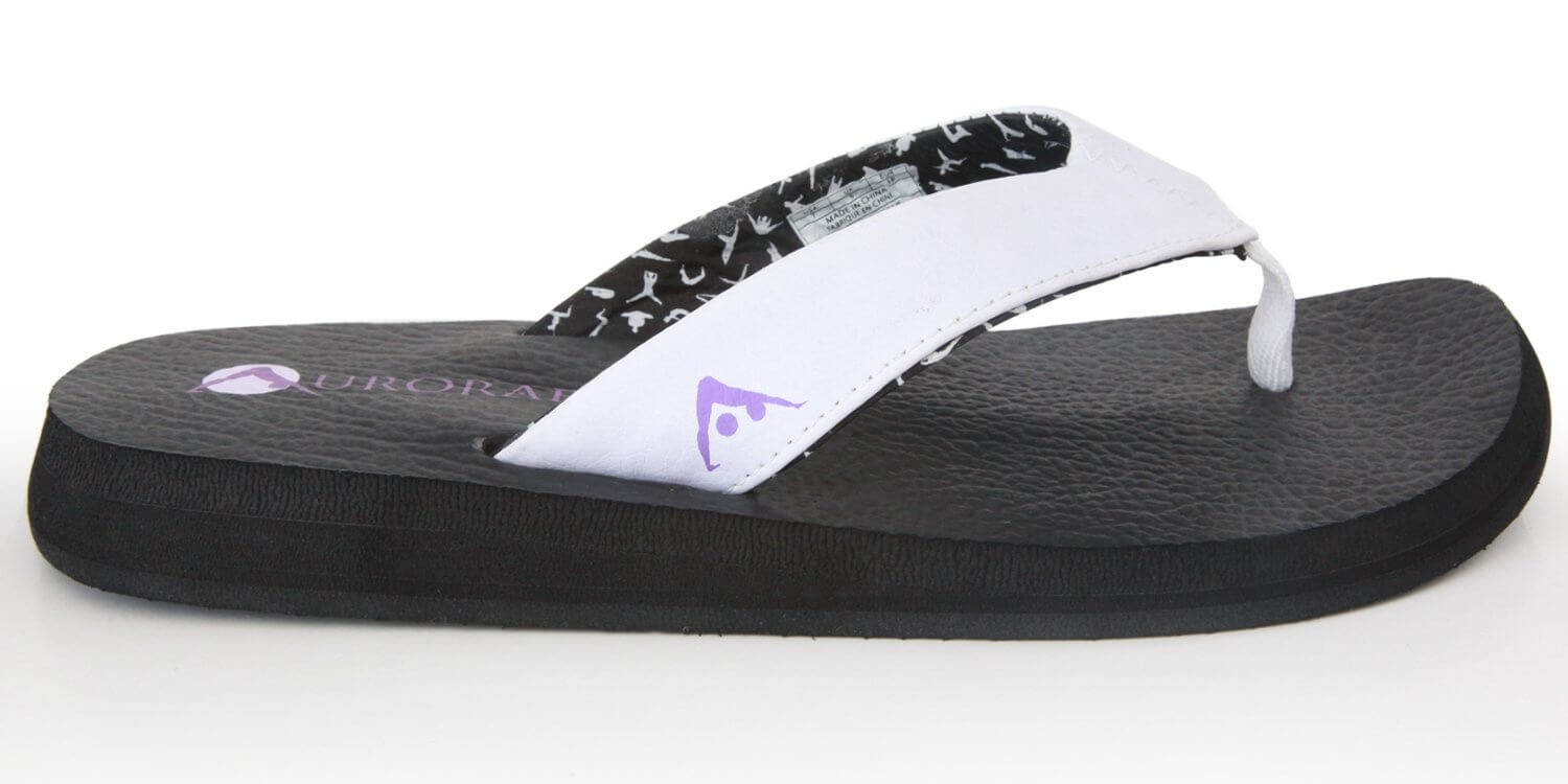black-vegan-leather-yoga-flip-flops