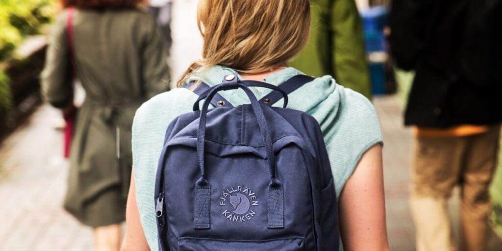 Fjällräven Re-Kanken Backpack, Eco-Friendly Edition
