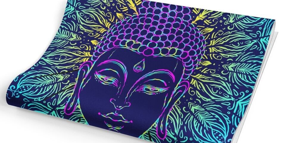 buddha-blue-eco-friendly-yoga-mat