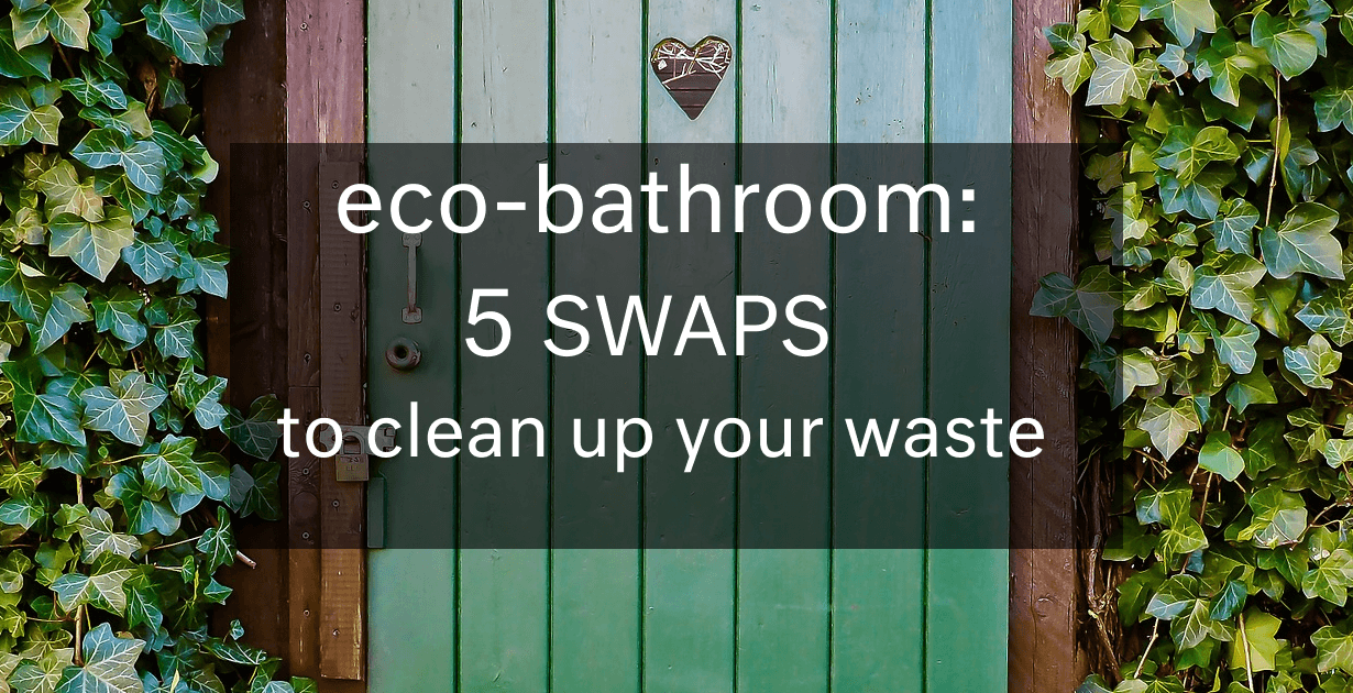 Toilet talk: 5 eco-friendly swaps to clean up your waste