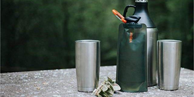 Vapur- Foldable Water Bottle for Travelers