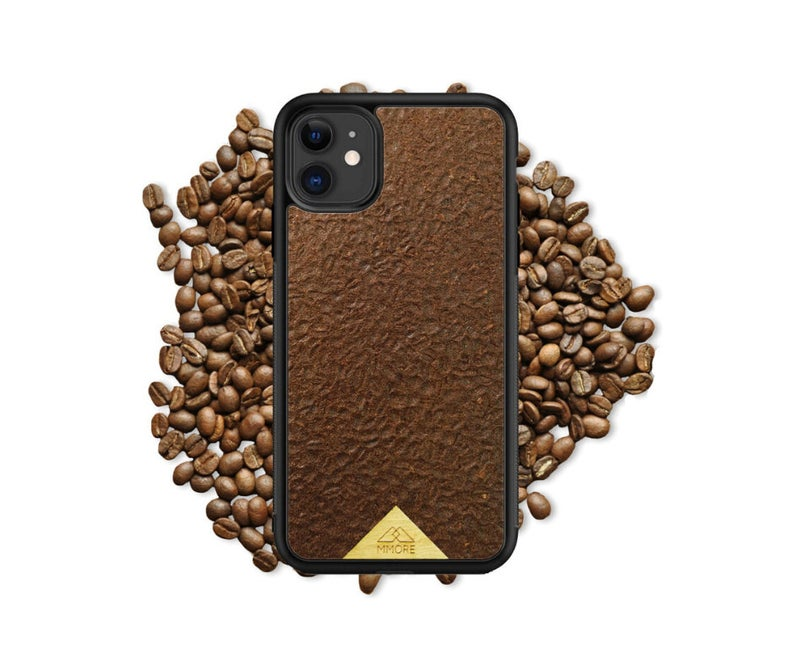 coffee case with grains
