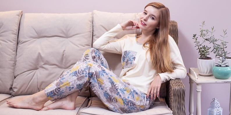 handmade-organic-cotton-pyjamas-blue-floral
