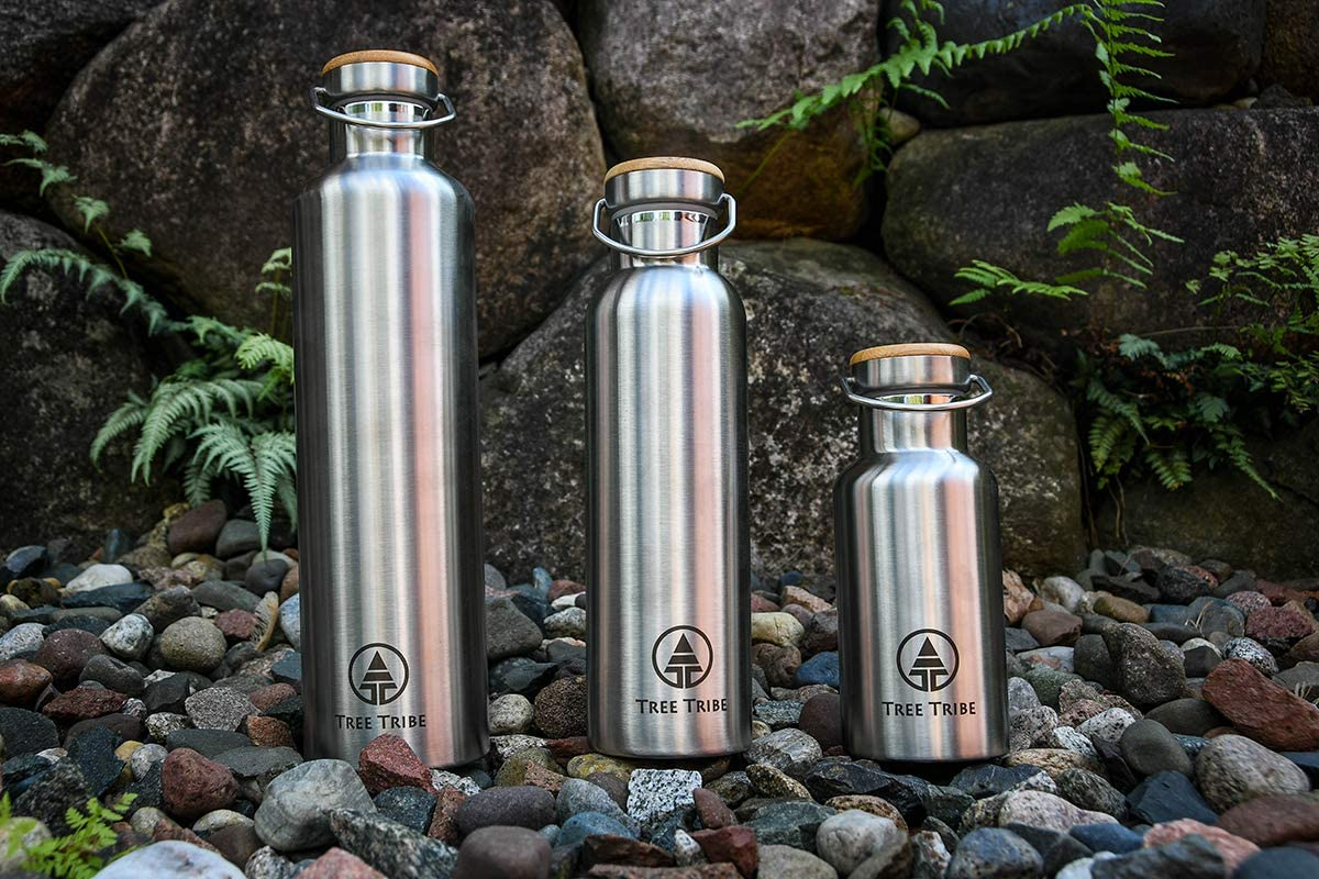 Insulated & BPA-free Reusable Bottle by Tree Tribe