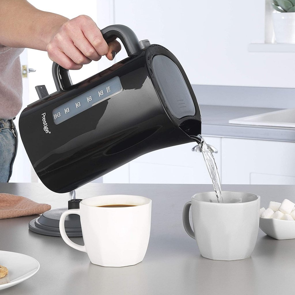6 Cup Plastic Electric Hot Water Kettle